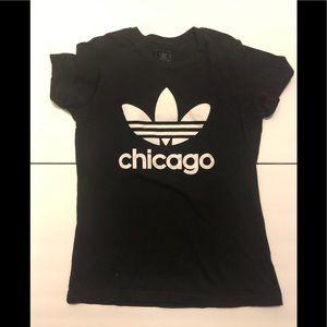 Adidas Black Chicago tee